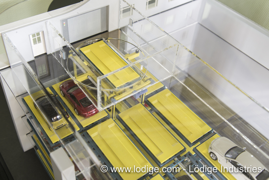 pallet based automated car park systems