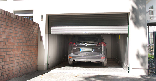 Car lift without a pit