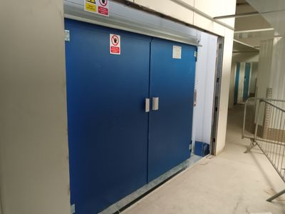 Bespoke Two Stop Goods Lift in Salisbury
